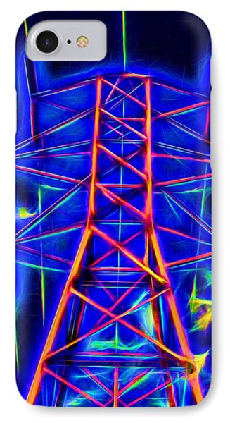 Power Tower To Glow IPhone Case