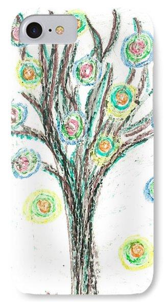 Power Tree IPhone Case by Jill Lenzmeier