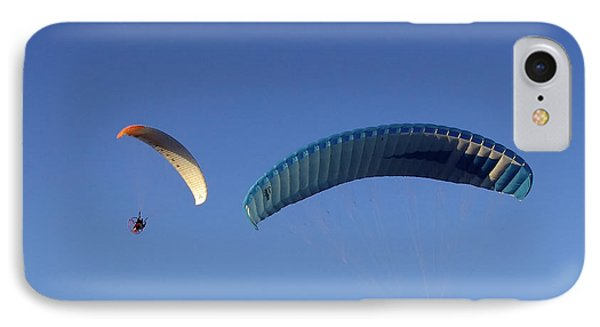 IPhone Case featuring the photograph Powered Parachute by John Swartz