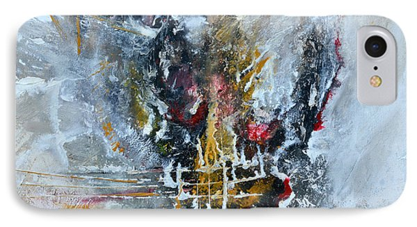 Powerful - Abstract Art IPhone Case by Ismeta Gruenwald