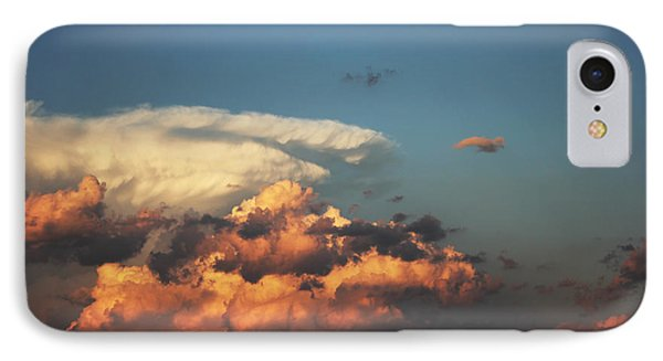 IPhone Case featuring the photograph Powerful Cloud by Ryan Crouse