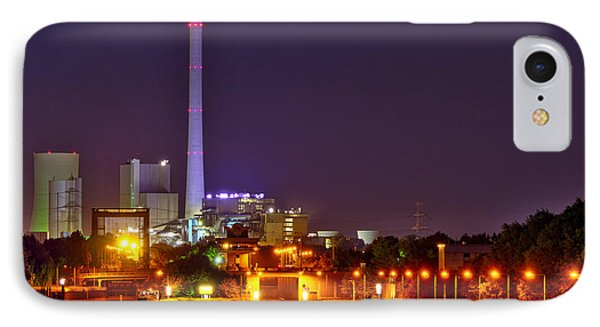 Powerhouse In A Sea Of Lights IPhone Case