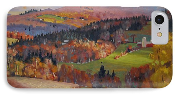 Pownel Vermont IPhone Case by Len Stomski