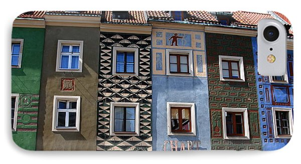 Poznan Town Houses IPhone Case by Jacqueline M Lewis