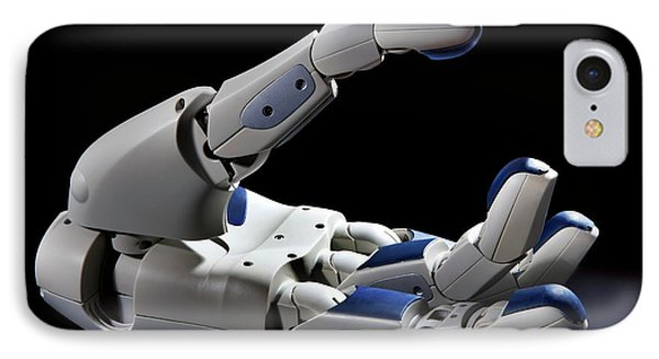 Pr2 Robot Hand IPhone Case by Patrick Landmann