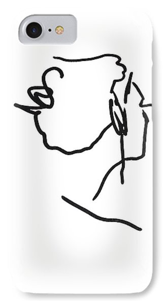 Practice Matisse  IPhone Case by Jerry Cordeiro