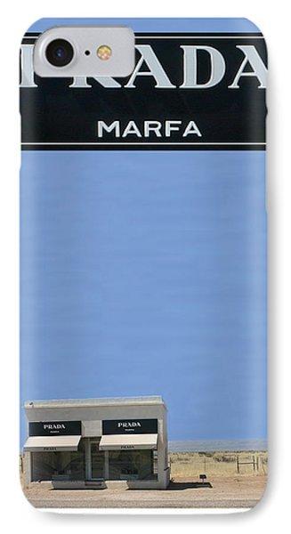 Prada Marfa Texas Phone Case by Jack Pumphrey