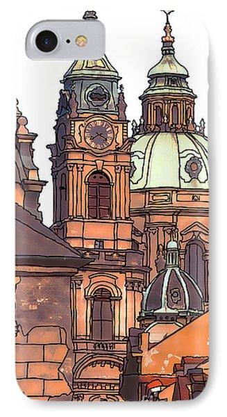 Prague 1 Phone Case by Phil Robinson