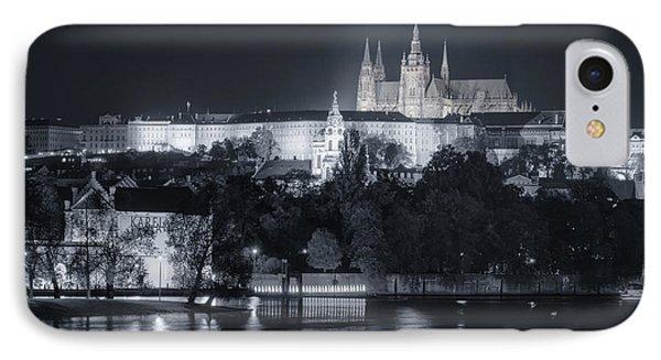 Prague Castle At Night IPhone Case