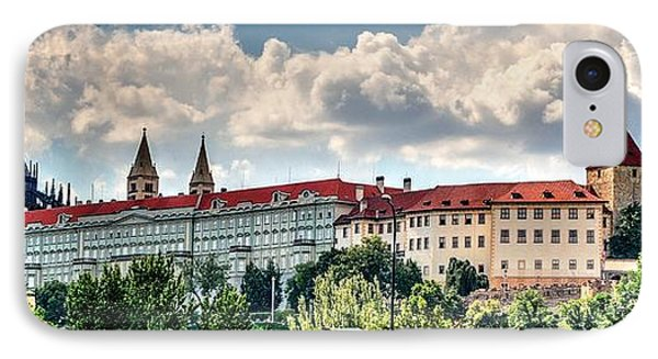 IPhone Case featuring the photograph Prague Castle by Joe  Ng