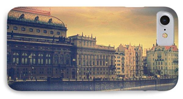 Prague Days Phone Case by Taylan Apukovska