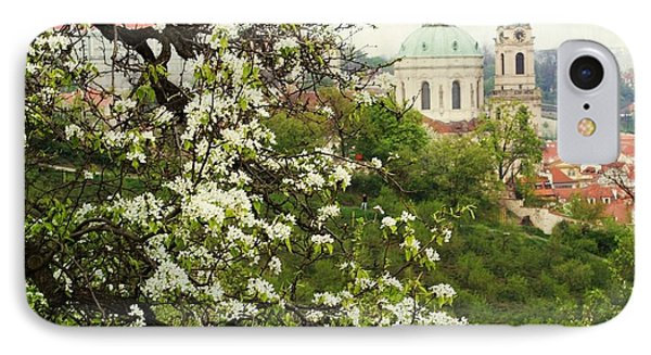 Prague In Bloom II IPhone Case