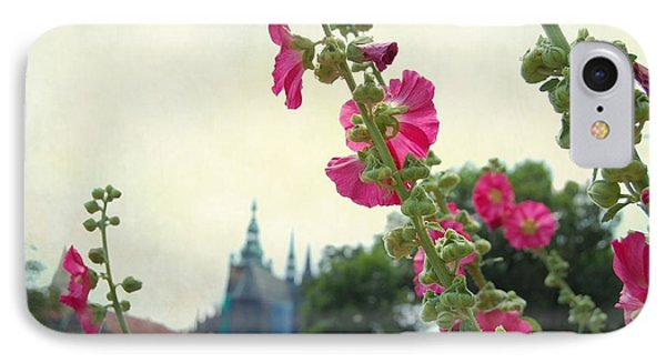 Prague In Bloom V IPhone Case