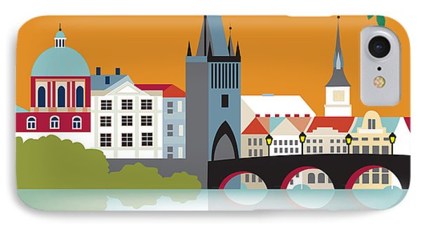 Prague IPhone Case by Karen Young