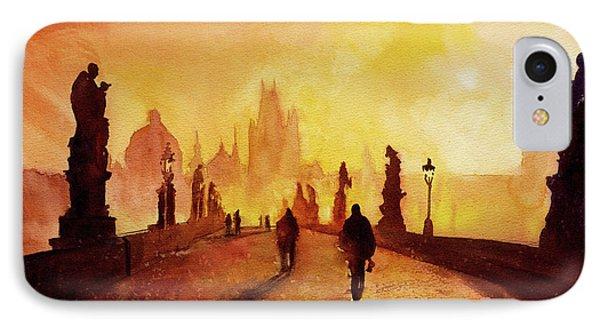 Prague Sunrise IPhone Case