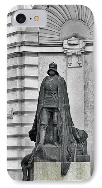 Prague - The Iron Man From A Long Time Ago And A Country Far Far Away IPhone Case by Christine Till