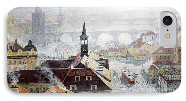 Praha Early Spring  IPhone Case by Yuriy Shevchuk