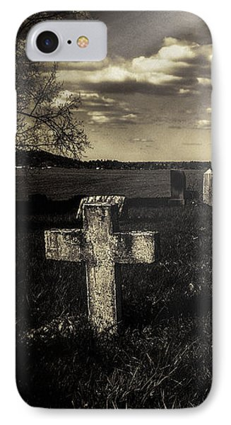 Prairie Graves IPhone Case by Jean OKeeffe Macro Abundance Art