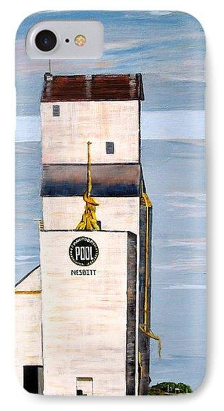 Prairie Icon - Manitoba Pool Elevator Phone Case by Marilyn  McNish
