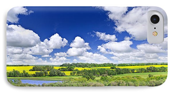 Prairie Panorama In Saskatchewan IPhone Case by Elena Elisseeva