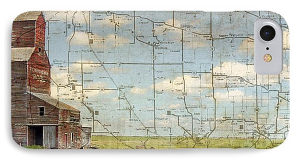 Prairie Panorama Phone Case by Judy Wood