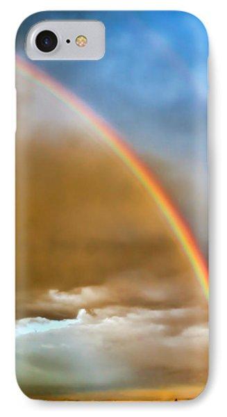 Prairie Rainbow Phone Case by Ellen Heaverlo