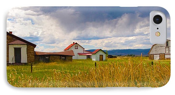 Wyoming Prairie Scene IPhone Case