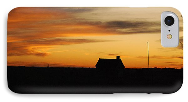 Prairie Sunset IPhone Case by Mary Carol Story