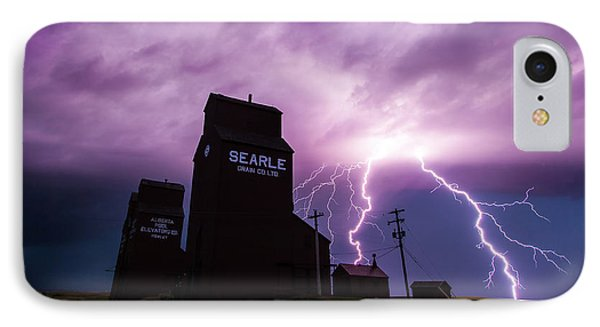 Prairie Tempest IPhone Case by Ian MacDonald