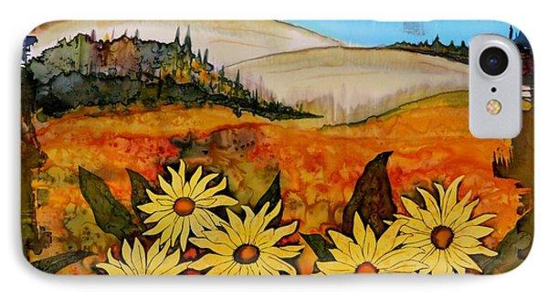 Prairie Wildflowers IPhone Case by Carolyn Doe