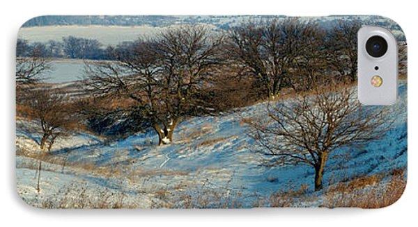 Prairie Winter IPhone Case by Bruce Morrison
