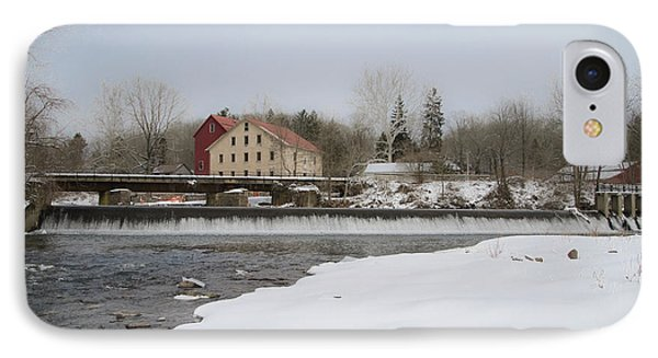 Prallsville Mills And Waterfalls - Stockton New Jersey IPhone Case by Bill Cannon