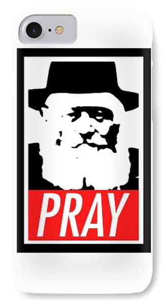 Pray Phone Case by Anshie Kagan