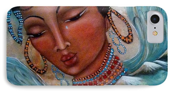 Pray For Tibet IPhone Case by Maya Telford