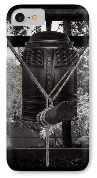 IPhone Case featuring the photograph Prayer Bell by Darryl Dalton