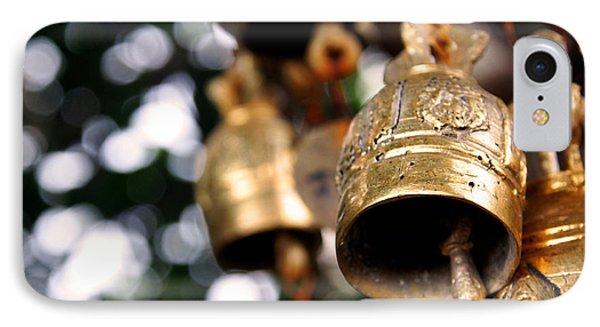 Prayer Bells Phone Case by Kaleidoscopik Photography