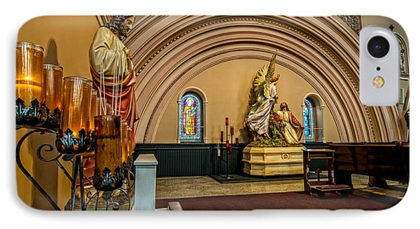 Prayer Candles At St. Joseph Church - New Orleans IPhone Case