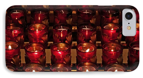 Prayer Candles IPhone Case
