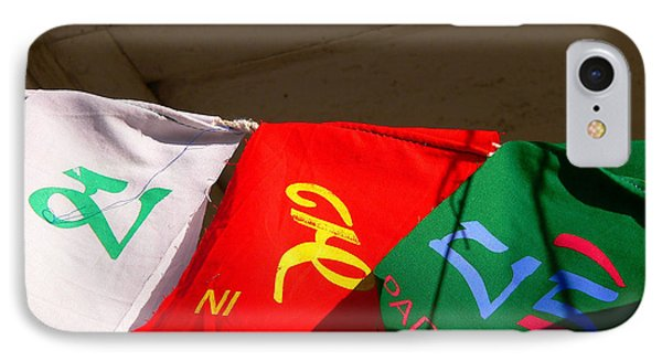 Prayer Flags Phone Case by Angela Wright