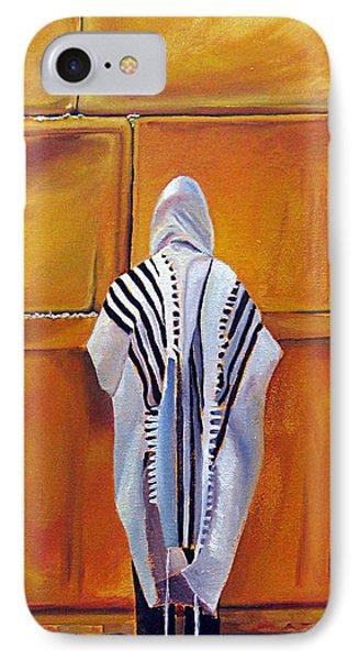 Prayer II IPhone Case by Dawnstarstudios