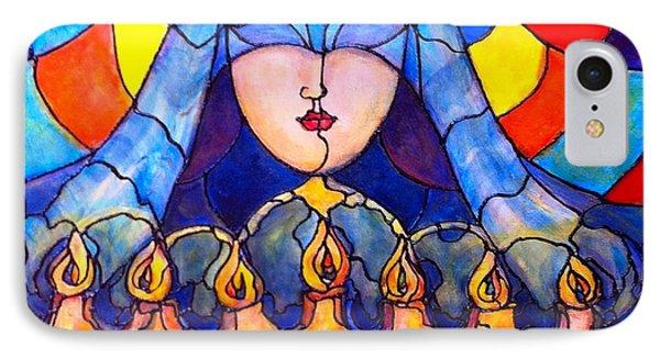 Prayer IPhone Case by Rae Chichilnitsky