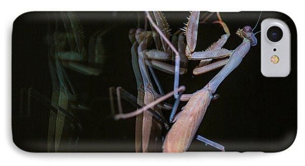 Praying Mantis 2 Phone Case by Angela A Stanton