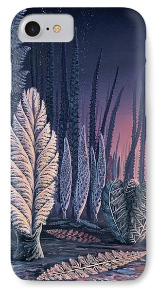 Pre-cambrian Life Forms IPhone Case