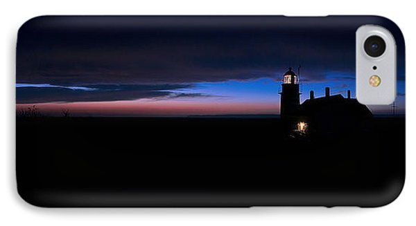 Pre Dawn Light Panorama At Quoddy IPhone Case by Marty Saccone