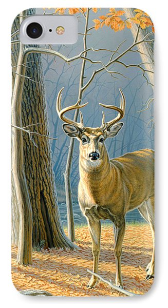 Pre-flight- Whitetail Buck IPhone Case