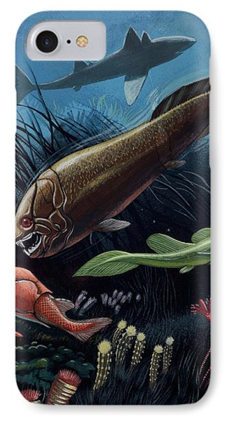 Prehistoric Fish IPhone Case