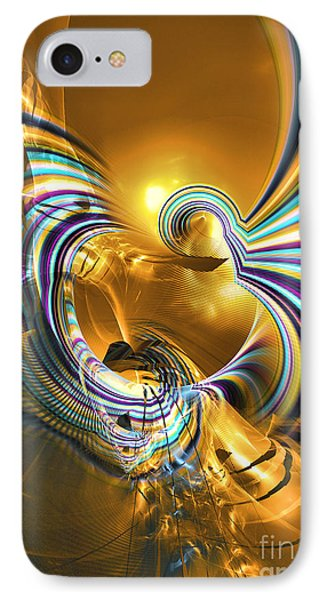 Prelude Of Colors - Surrealism Phone Case by Sipo Liimatainen