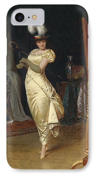 Preparing For The Ball Phone Case by Frederick Soulacroix