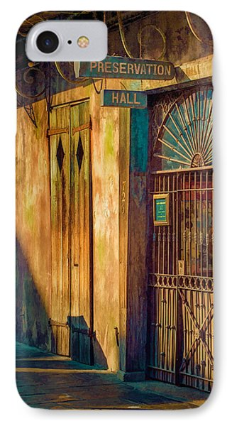 Preservation Hall IPhone Case by Brenda Bryant
