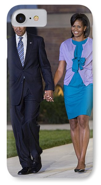 President And First Lady Phone Case by JP Tripp